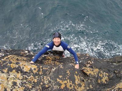 Cornish Deep Water Soloing