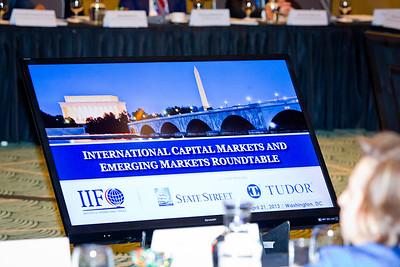 INSTITUTE OF INTERNATIONAL FINANCE 2013