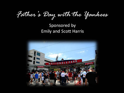 Fathers Day at Yankees