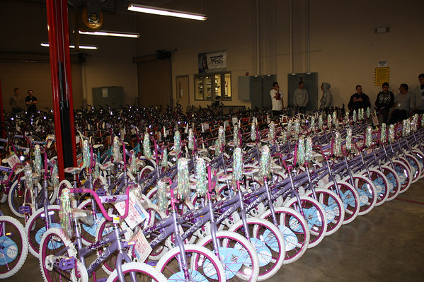 Presentation of 2010 Bikes for Angels