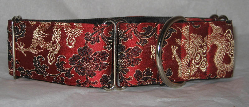 Silk Brocade Collars