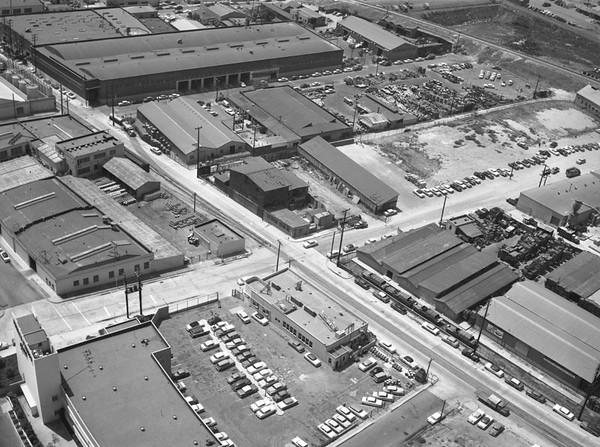 1950s, Industrial Area Aerial
