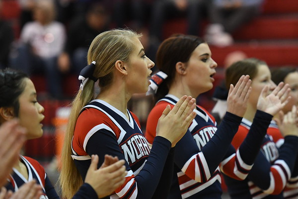 Cheerleader - Lincoln Christian BB Game
