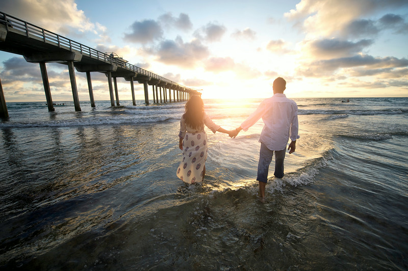 Couple at Scripps