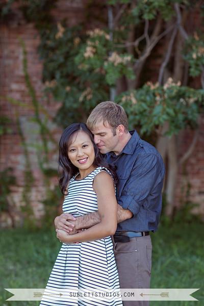 Valerie + Christian Engaged
