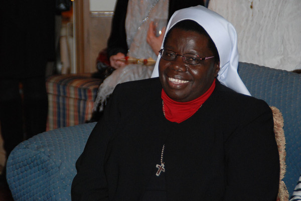 An Evening with Sister Rosemary at Mary Louise and Brad Binning's Home