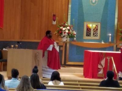 Installation of Fr. Daniel Green