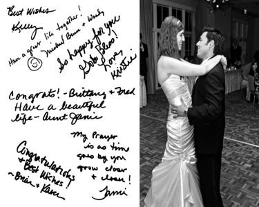 Brittany & Frederick Wedding Reception Album