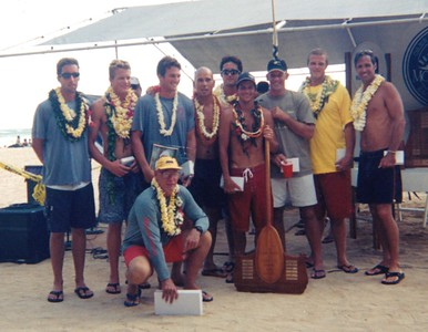 50th Annual Molokai Hoe 10-7-2001