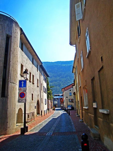 Martigney is a town of pretty streets...