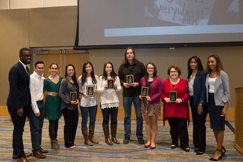 The award recipients.
