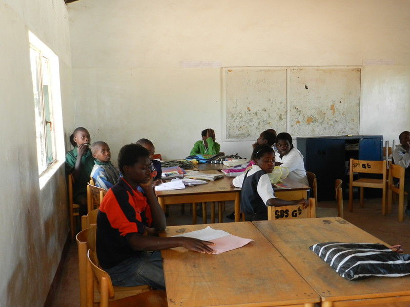 141 - Zambian Village School - Anne Davis