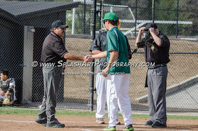 2016 Baseball JV Eagle Rock vs So Pasadena 09Mar2016