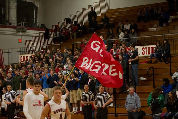 Goshen vs. Concord boys basketball