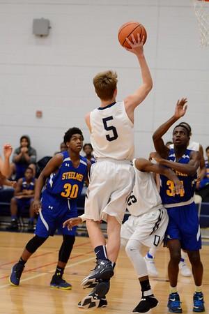 OE Freshmen boys basketball Vs Joliet  Central 2016/17