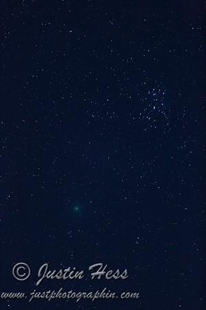 Comet 46P Wirtanen 2018