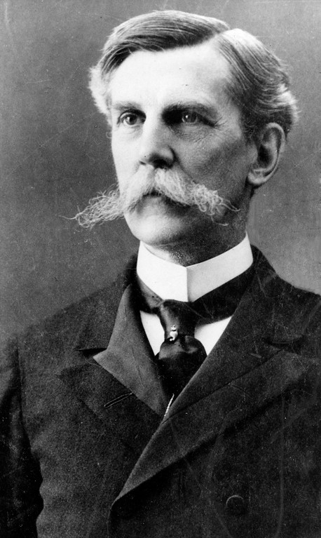 """. Oliver Wendell Holmes, chief justice of Massachusetts Supreme Court, is shown on Feb. 28, 1900.  Holmes served 30 years on the U.S. Supreme Court and had the nickname the """"Great Dissenter"""" because of his liberal views in opposition to the majority.  (AP Photo)"""