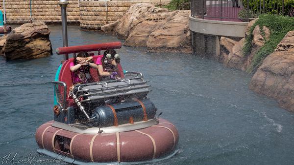Tokyo Disney Resort, Tokyo Disneyland, Tokyo DisneySea, Tokyo Disney Sea, Port Discovery, Aquatopia, Get Wet, Wet, Course