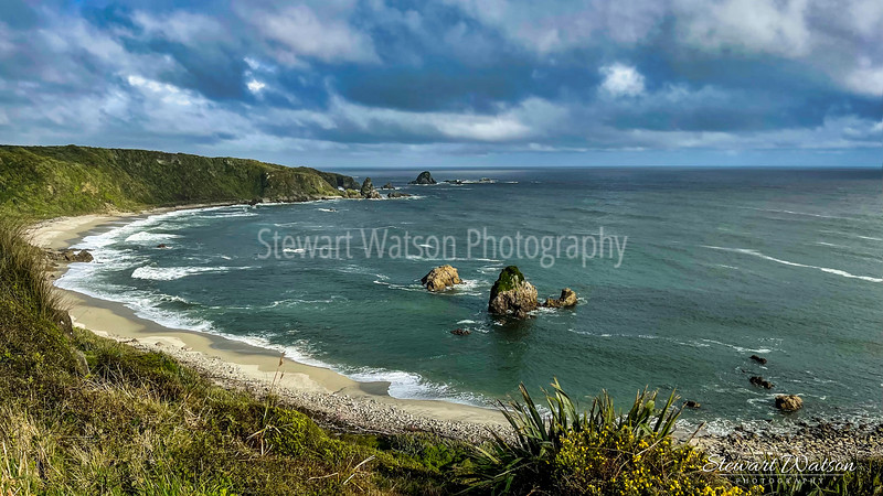 Cape Foulwind coastal lighthouse walk 09