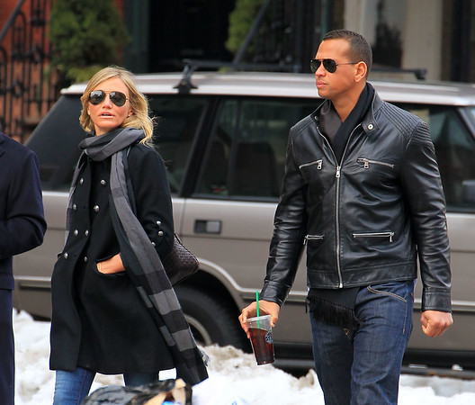 2011-02-07 - Cameron Diaz and A-Rod