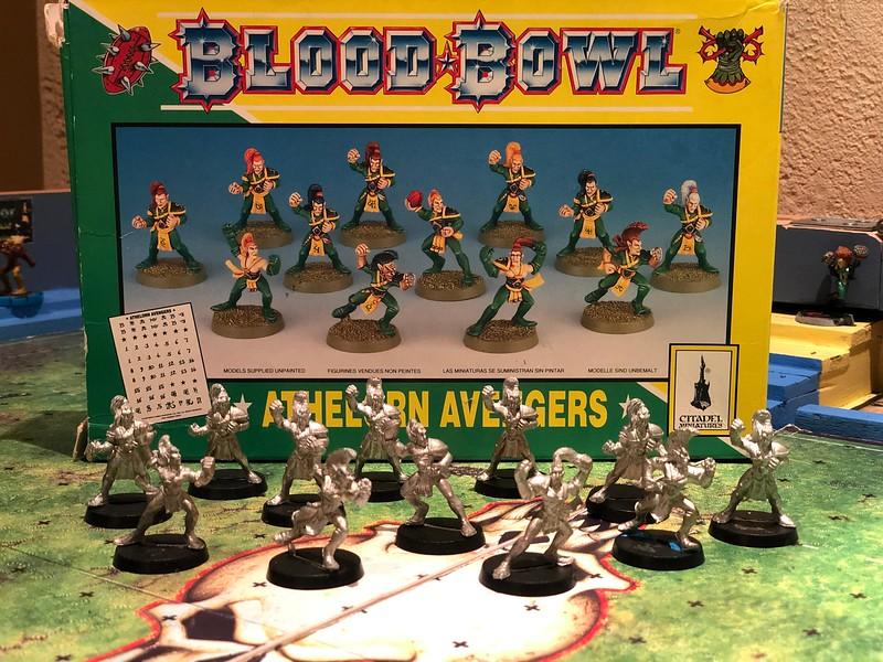 Wood Elf Blood Bowl team 50$