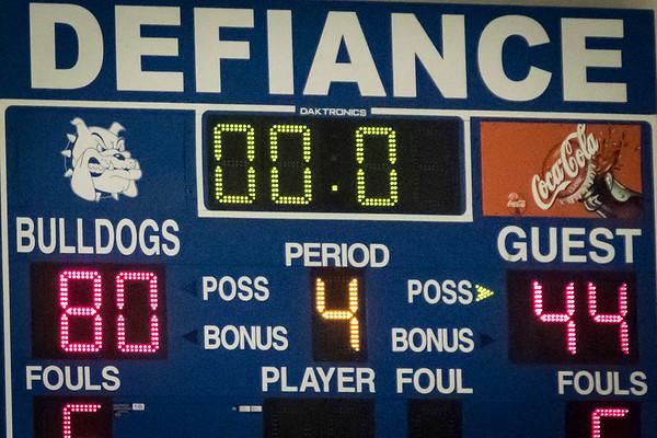 DHS Girls Basketball  01-05-2017
