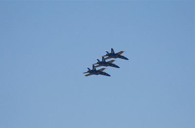 Blue Angels over Charleston