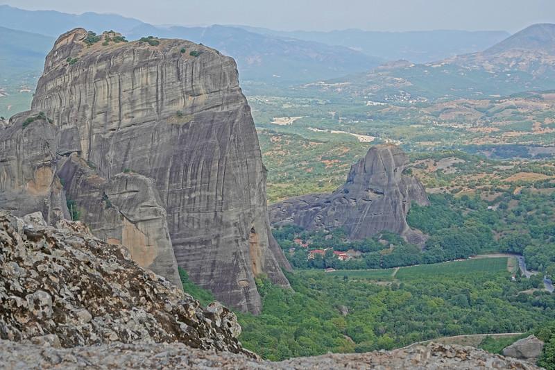 Climbing the Meteoras