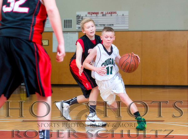 Crescent City Classic Tourney: 7th Grade Crescent Elk A vs. Sunny Brae