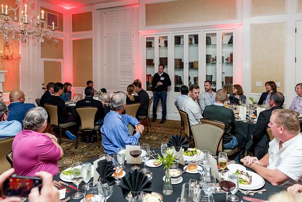 Customer Reception & Dinner, Sept 2016