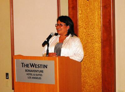 Mona Pasquil - Acting Lt. Gov. of Calif. - Bonaventure Hotel 4-28-11