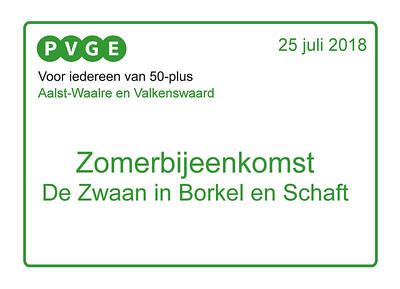 2018-0725 PVGE zomerbijeenkomst