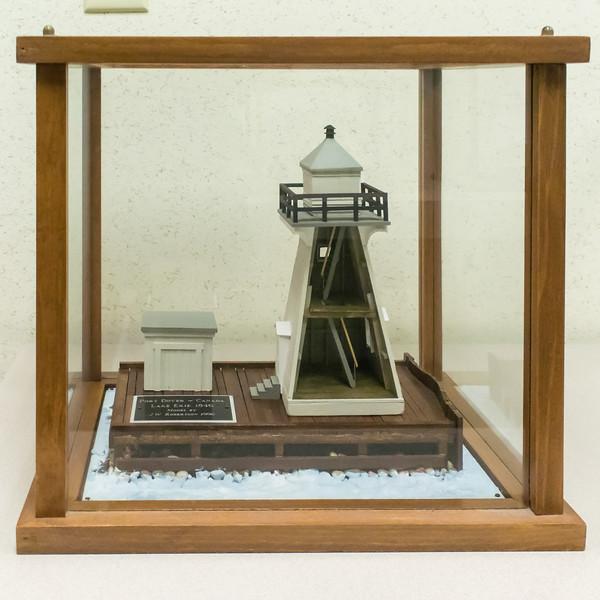 Port Dover Lighthouse - 1846, Model built 1996