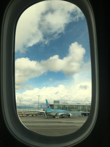 25 Mar: Leaving Vancouver, en route to China