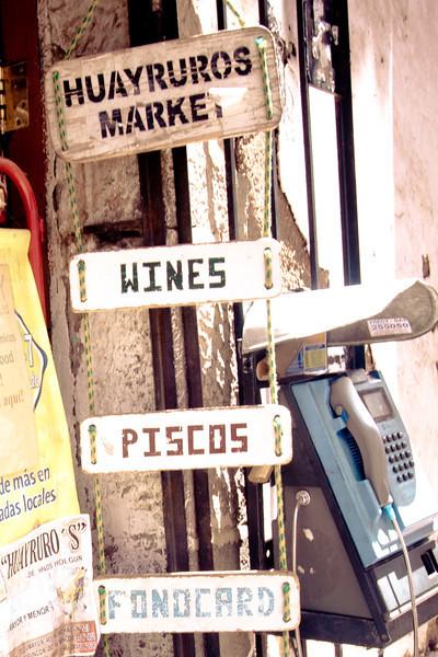 cusco  huayruros market