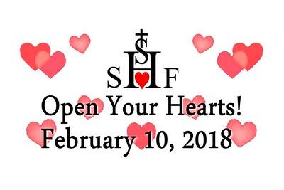 Sacred Heart of Jesus Foundation Fundraiser - February 10, 2018