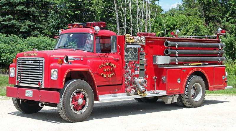Retired Engine 2   1977 International / Howe   750 / 1000
