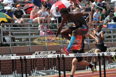 D1 Boys' 300 Hurdles Final - 2014 MHSAA LP T&F Finals