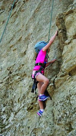 3-1 Channel 3 Kids Camp Rock Climbing