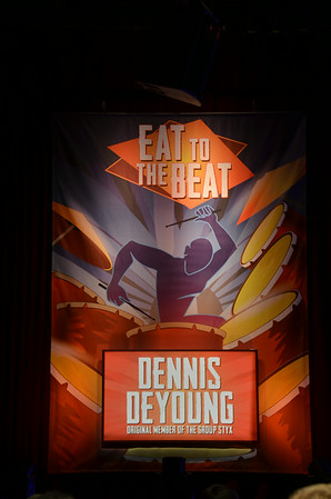 Dennis DeYoung Eat to the Beat Concert Epcot Nov 2013