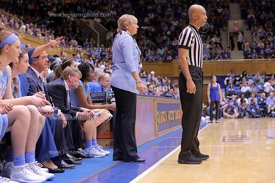 UNC vs Duke women basketball 2018