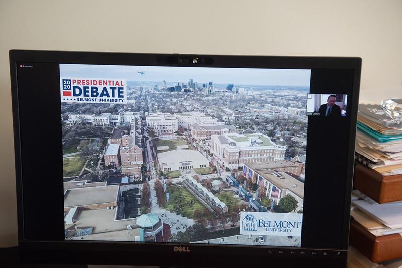 The Rotary Club of Nashville Debate 2020 talk