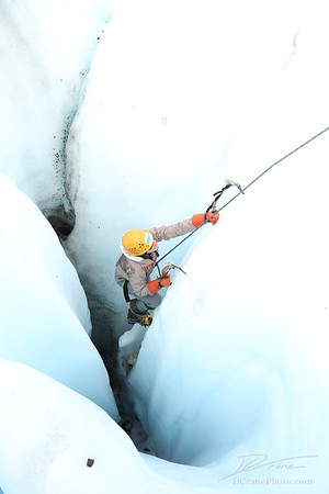 Ice Climbing with Sam