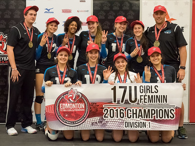 HRVC 17U at 2016 Canadian National Championships in Edmonton, AB - Canadian National Champions!