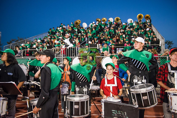 Band in the Stands
