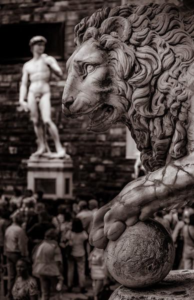 David & Lion - Florence