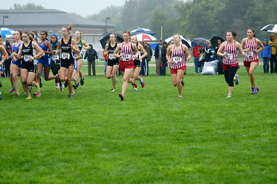 Coed Cross Country - 10/1/2016 Allendale Invitational DW
