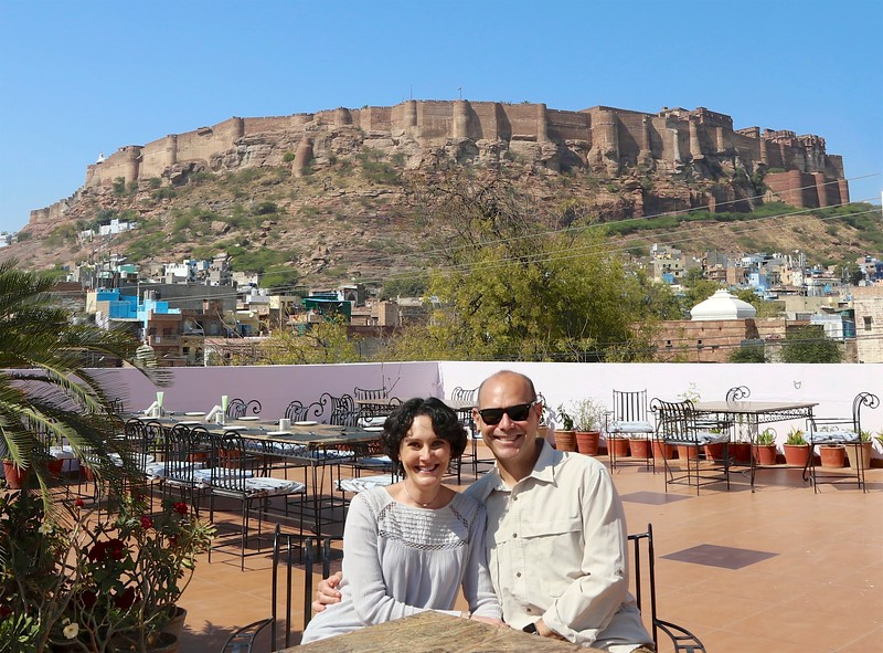 Lunch with a view of Mehrangarh Fort - Jodhpur