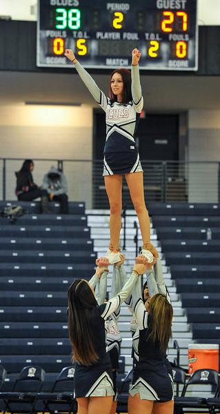 Russ DeSantis Cheerleading
