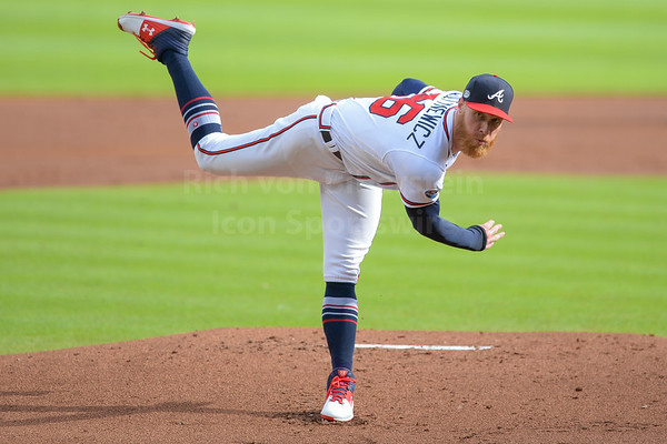 10/8/18 Atlanta Braves vs Los Angeles Dodgers NLDS